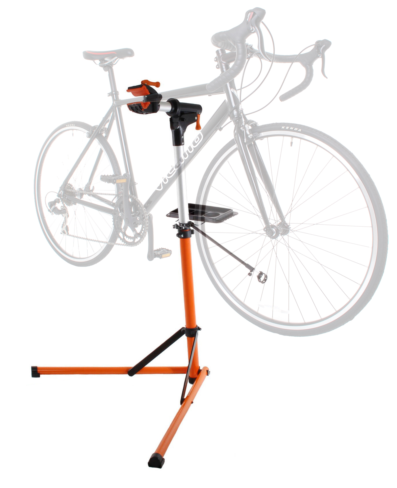 Conquer Portable Aluminum Mechanic Bike Repair Stand Bicycle Workstand at Sears.com